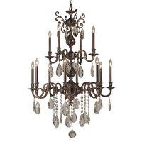 HA Framburg Czarina 12 Light Foyer Chandelier in Roman Bronze 5599RB