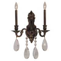 HA Framburg Czarina 2 Light Bath Light in Roman Bronze 5592RB