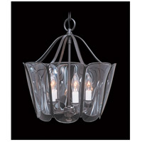 HA Framburg Yorkshire 5 Light Foyer Chandelier in Mahogany Bronze 6750MB