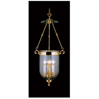 Jamestown 6 Light 20 inch Polished Brass Foyer Chandelier Ceiling Light