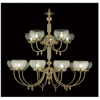 HA Framburg Chancery 15 Light Foyer Chandelier in Polished Brass 7515PB
