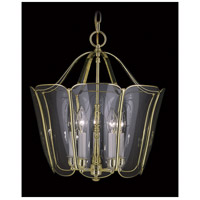 Framburg 7750PB Yorkshire 5 Light 16 inch Polished Brass Foyer Chandelier Ceiling Light