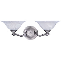 Fin De Siecle 2 Light 21 inch Satin Pewter Sconce Wall Light