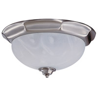 HA Framburg Fin de Siecle 2 Light Semi-Flush Mount in Satin Pewter/Nuage 8008SP/N