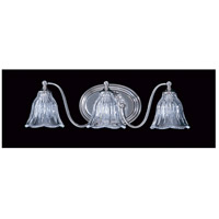 HA Framburg Geneva 3 Light Bath Light in Polished Nickel 8173PN