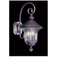 Framburg 8320SBR Carcassonne 3 Light 19 inch Siena Bronze Exterior Wall Lantern in Sienna Bronze