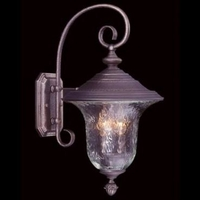 Framburg 8325SBR Carcassonne 3 Light 20 inch Siena Bronze Exterior Wall Lantern in Sienna Bronze