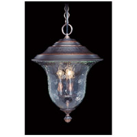 Carcassonne 3 Light 14 inch Siena Bronze Exterior Ceiling Lantern in Sienna Bronze