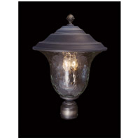 Carcassonne 3 Light 14 inch Iron Exterior