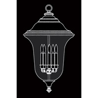 HA Framburg Carcassonne 5 Light Exterior in Iron 8336IRON