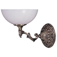 Napoleonic 1 Light 9 inch French Brass Sconce Wall Light