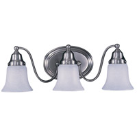 HA Framburg Magnolia 3 Light Bath Light in Satin Pewter 8413SP