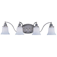 HA Framburg Magnolia 4 Light Bath Light in Polished Nickel 8414PN