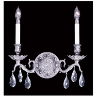 HA Framburg Czarina 2 Light Bath Light in Polished Silver 8422PS