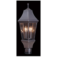 Normandy 3 Light 8 inch Iron Exterior in Without Shade