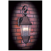 Normandy 3 Light 29 inch Siena Bronze Exterior Wall Lantern in Sienna Bronze, Without Shade