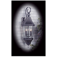 Normandy 5 Light 38 inch Iron Exterior Wall Lantern in Without Shade
