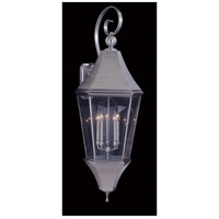 Framburg 8746BN Normandy 5 Light 48 inch Brushed Nickel Exterior Wall Lantern in Without Shade