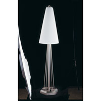 HA Framburg Solstice 3 Light Table Lamp in Brushed Stainless/Polished Nickel 8830BS/PN