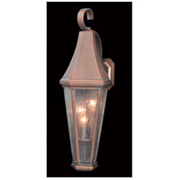 Framburg 8920RC Le Havre 3 Light 24 inch Raw Copper Exterior Wall Lantern