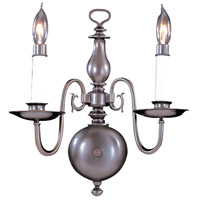 HA Framburg Jamestown 2 Light Bath Light in Mahogany Bronze 9122MB