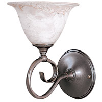 Black Forest 1 Light 7 inch Mahogany Bronze Sconce Wall Light in Without Shade