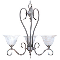 Black Forest 3 Light 23 inch Mahogany Bronze Dinette Chandelier Ceiling Light in Without Shade