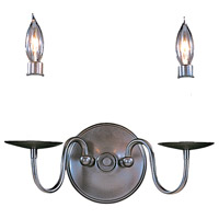 Jamestown 2 Light 13 inch Mahogany Bronze Sconce Wall Light