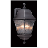 Framburg 9585IRON Coeur De Lion 3 Light 19 inch Iron Exterior Wall Lantern