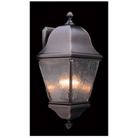 Framburg 9590SBR Coeur De Lion 3 Light 23 inch Siena Bronze Exterior Wall Lantern in Sienna Bronze