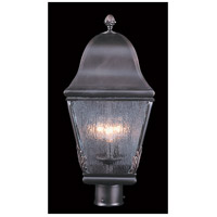 Framburg 9591SBR Coeur De Lion 3 Light 21 inch Siena Bronze Exterior Post Mount in Sienna Bronze