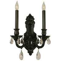HA Framburg Czarina 2 Light Wall Sconce in Mahogany Bronze 9952MB