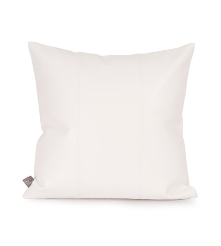 Howard Elliott Collection 1-190 Avanti 16 X 6 inch White Pillow, Square photo