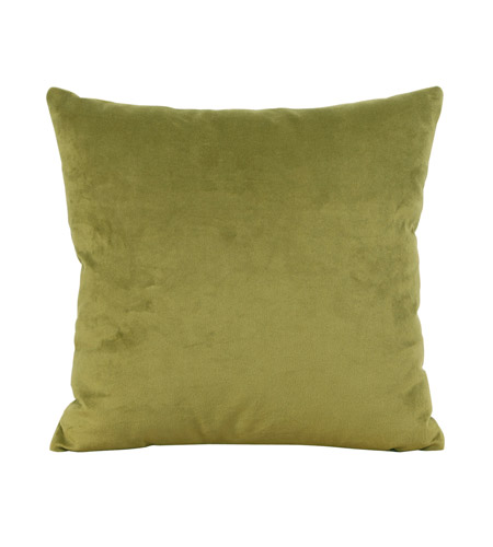 Howard Elliott Collection 1-221F Bella 16 X 6 inch Rich Green Pillow, Square photo