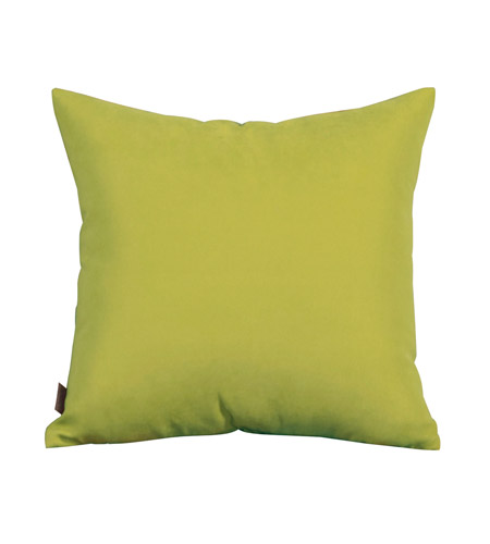 Howard Elliott Collection 1-249F Mojo 16 X 6 inch Green Pillow, Square photo