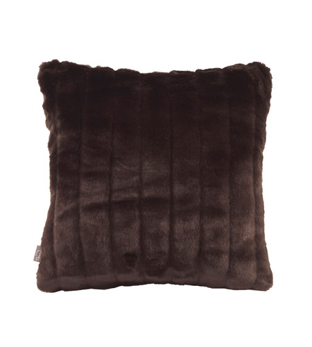 Howard Elliott Collection 1-285F Mink 16 X 6 inch Brown Pillow, Square photo