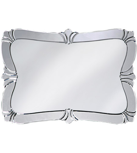 Howard Elliott Collection 11009 Messina 31 X 22 inch Wall Mirror, Rectangle photo