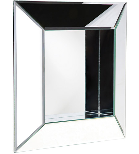 Howard Elliott Collection 11034 Amalfi 20 X 20 inch Wall Mirror, Square, Mitered Corners photo