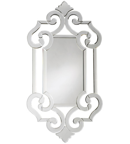 Howard Elliott Collection 11051 Clarice 41 X 22 inch Wall Mirror, Rectangle photo