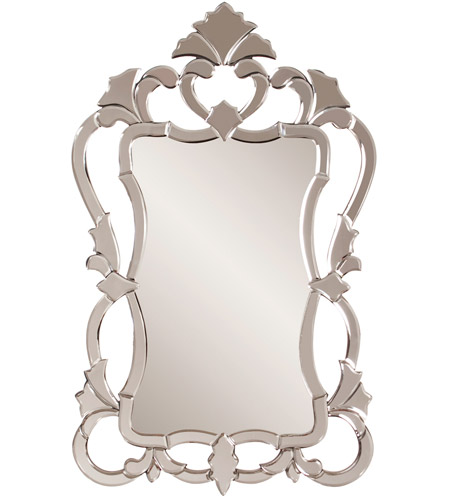 Howard Elliott Collection 11103 Contessa 43 X 26 inch Wall Mirror, Rectangle, Mirrored photo