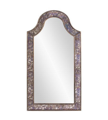 Howard Elliott Collection 11204 Samuel 56 X 30 inch Acid Treated Wall Mirror, Rectangle photo