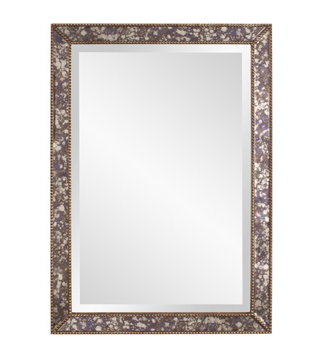 Howard Elliott Collection 11209 Samuel 34 X 24 inch Acid Treated Wall Mirror photo