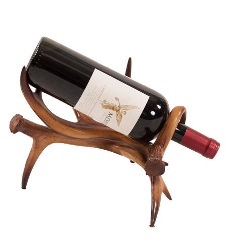 Howard Elliott Collection 12204 Faux Antler Faux Antler Wine Holder photo