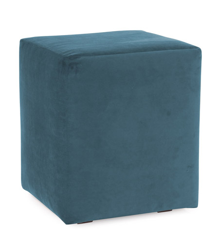 Howard Elliott Collection 128-250 Mojo 20 inch Turquoise Blue Ottoman photo