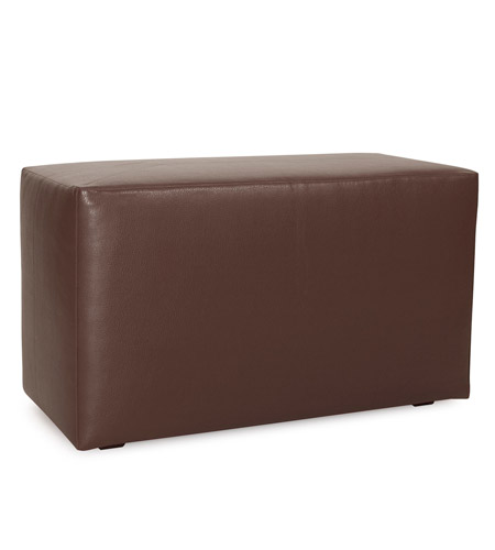 Howard Elliott Collection 130-192 Avanti 20 inch Deep Brown Ottoman photo