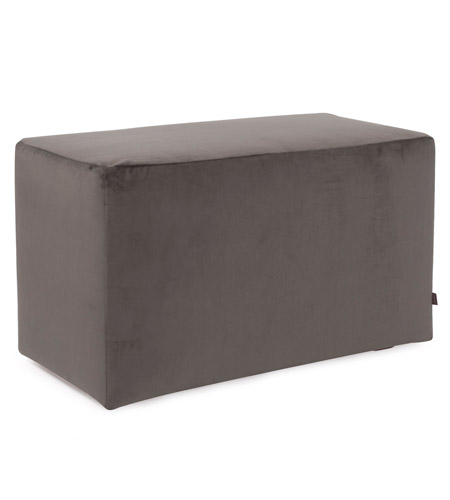 Howard Elliott Collection 130-225 Bella 20 inch Pewter Gray Ottoman photo