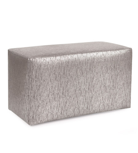 Howard Elliott Collection 130-237 Glam 20 inch Gray Ottoman photo