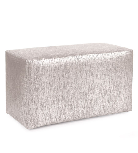 Howard Elliott Collection 130-239 Glam 20 inch Sand Ottoman photo