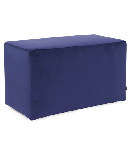 Howard Elliott Collection 130-972 Bella 20 inch Bold Royal Blue Ottoman photo