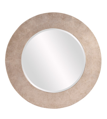 Howard Elliott Collection 14262 Amanda 36 X 36 inch Silver Wall Mirror, Round photo